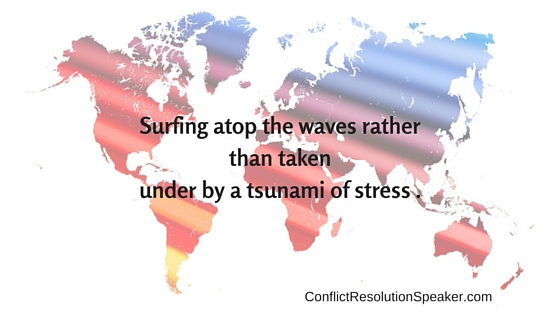 Tsunami of stress